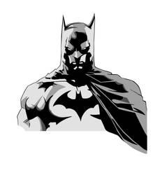 Batman Colored by LarsEliasNielsen