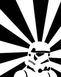 Retro Storm Trooper by LarsEliasNielsen