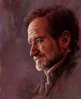 Robin Williams by Duh22