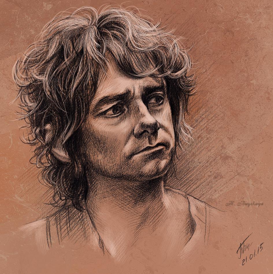 Sketch - Bilbo Baggins