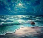 At the seashore v2