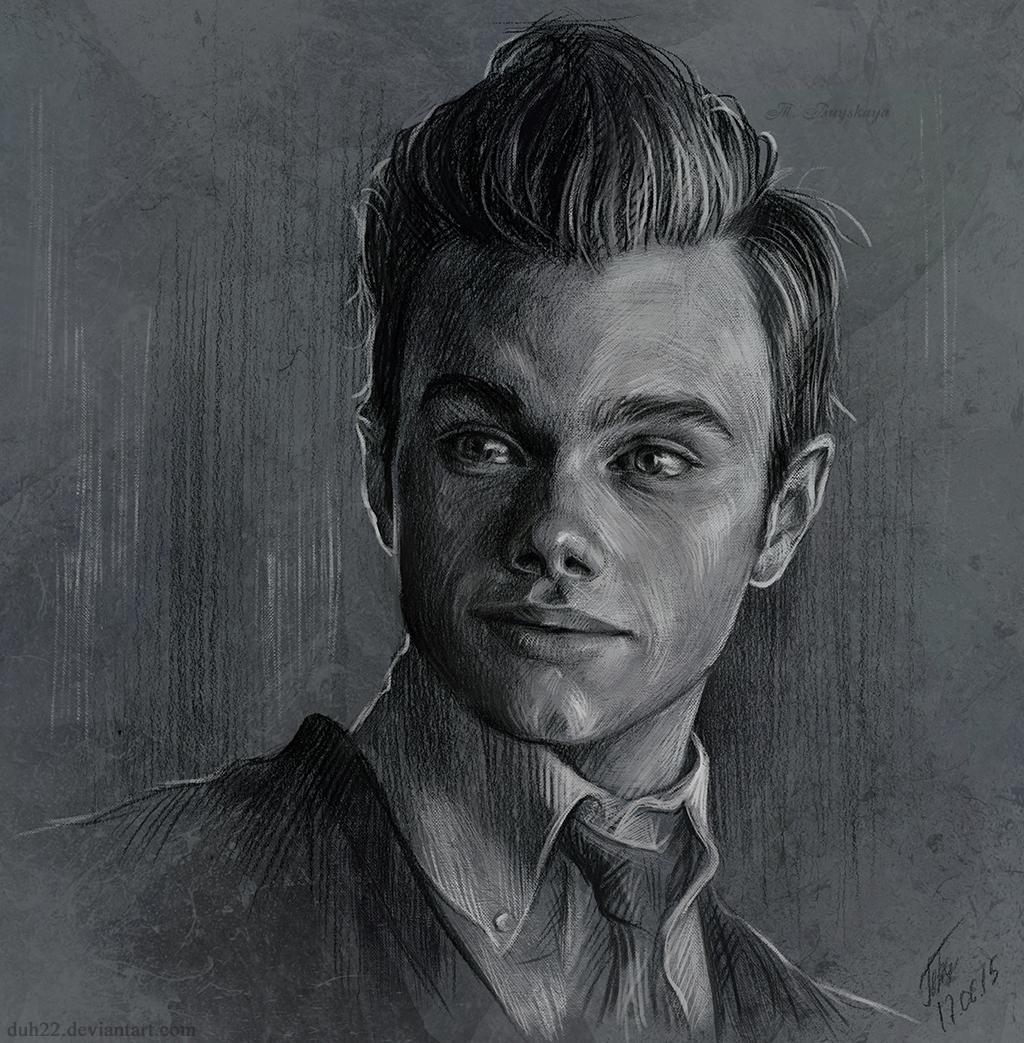 Sketch - Kurt Hummel by Duh22