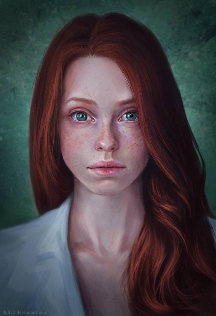 Girl by Duh22