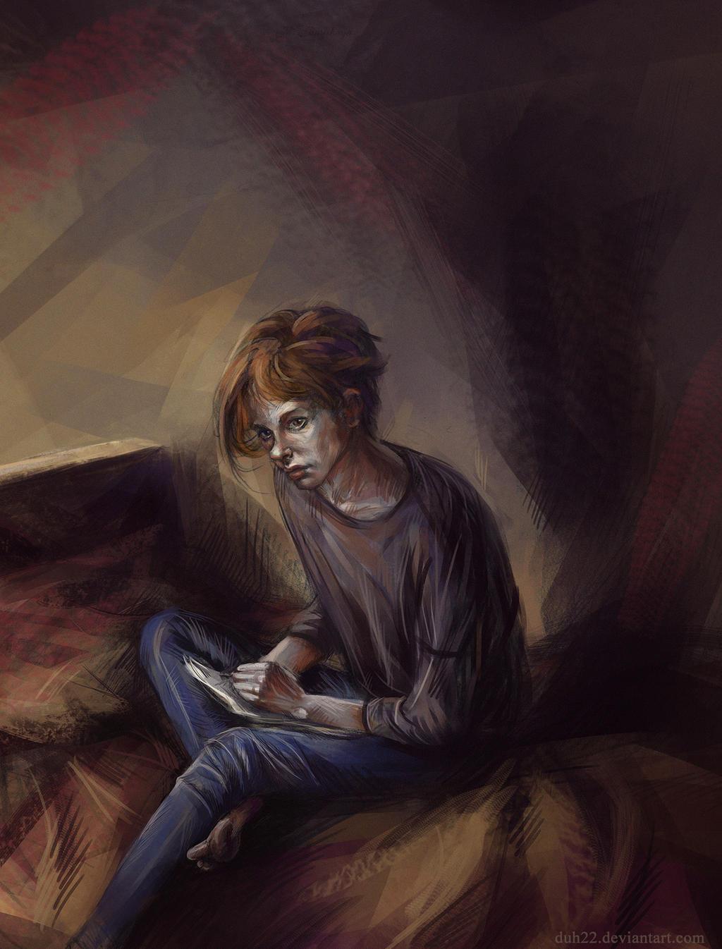 Sketch - Claude by Duh22