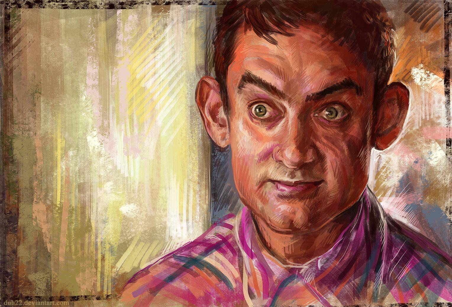 Sketch - PK (Aamir Khan)