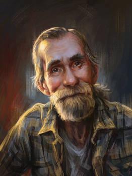 Portrait of grandfather