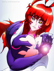 My WITCHBLADE anime fanart by TornElf