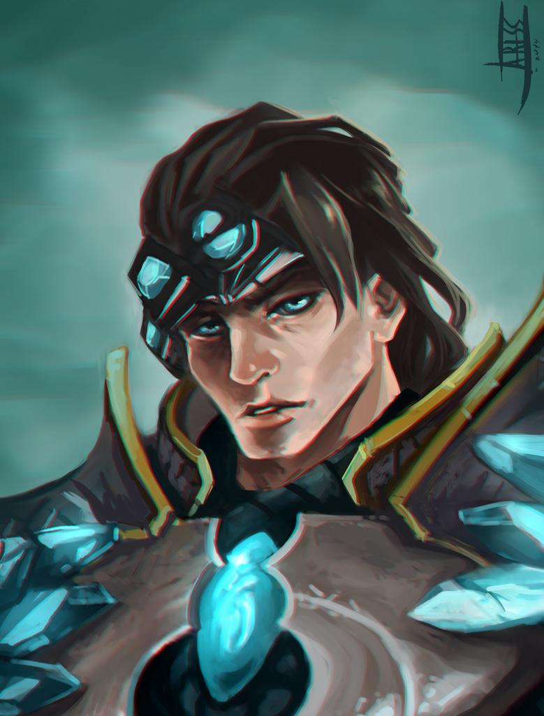 League of Legends: Fan Art Taric by Ariss18