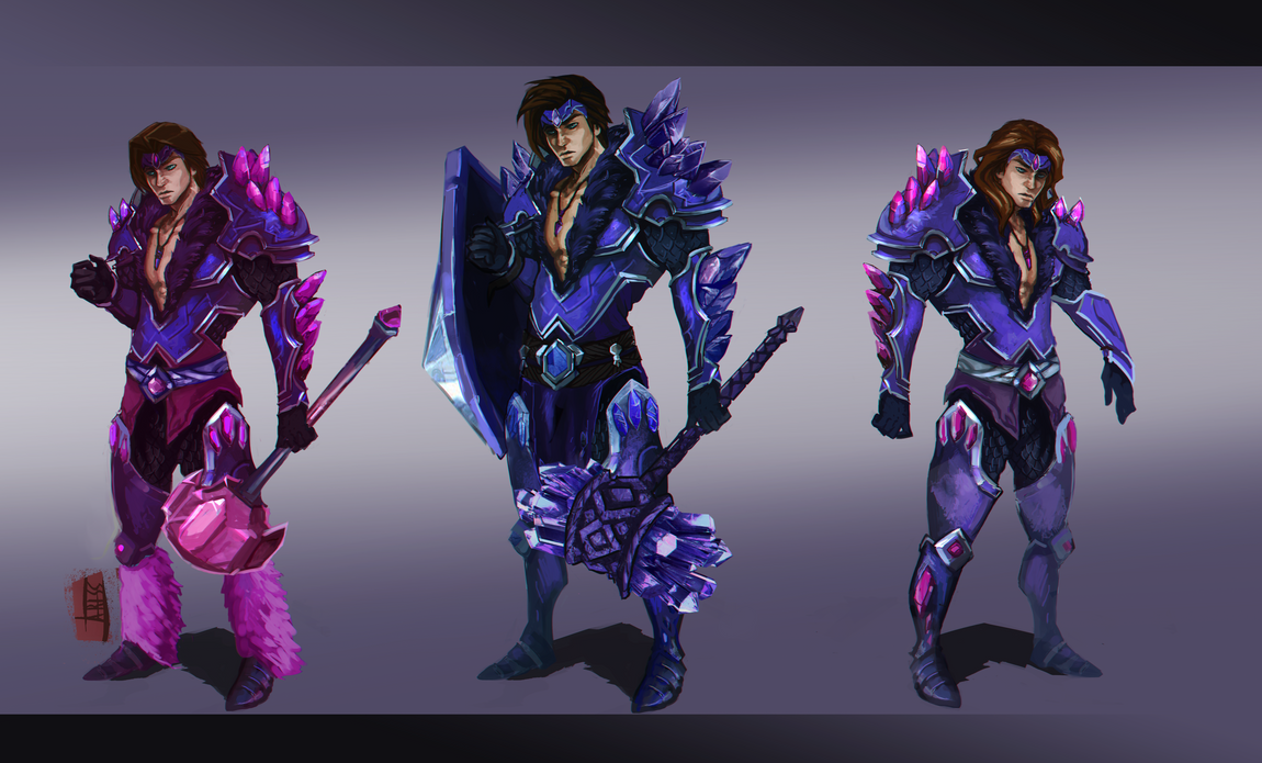League of Legends: Taric of the Fifth Age by Ariss18