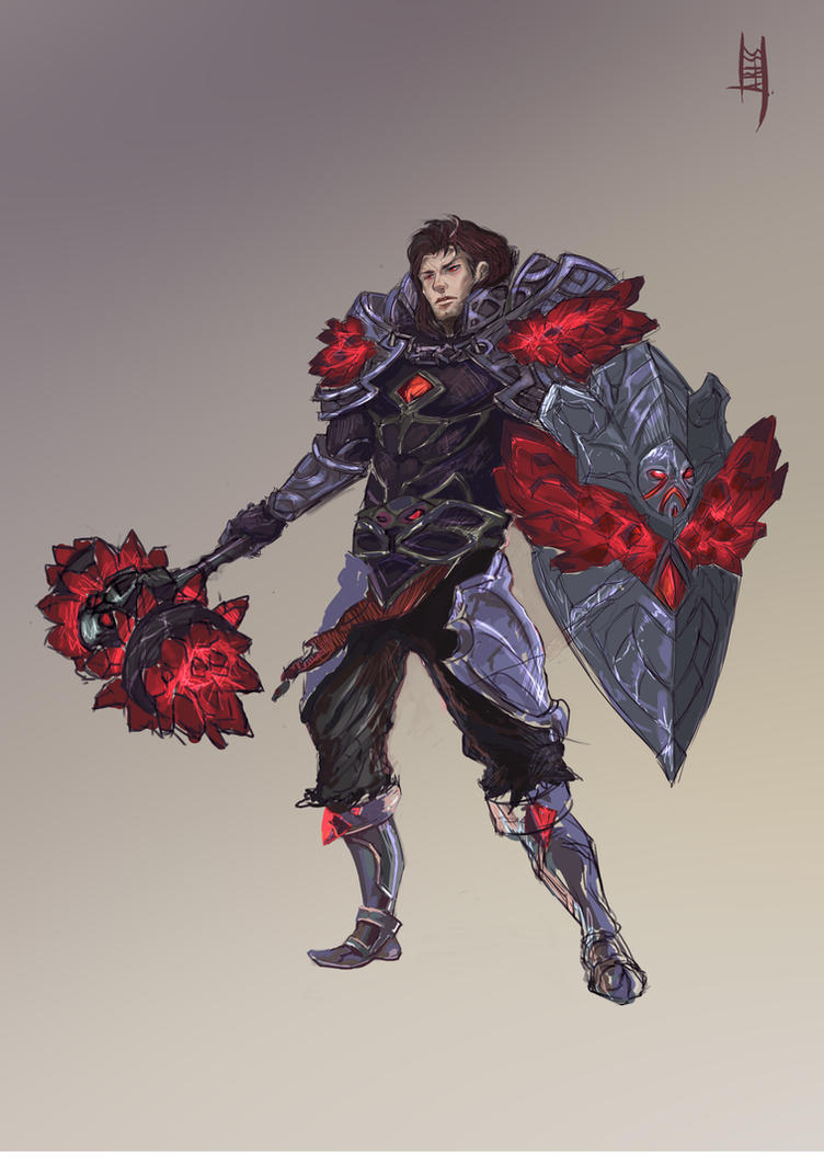 League of Legends: Taric concept 2 by Ariss18