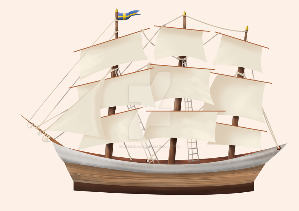 Swedish Ship - Work in Progress by LisasDezign