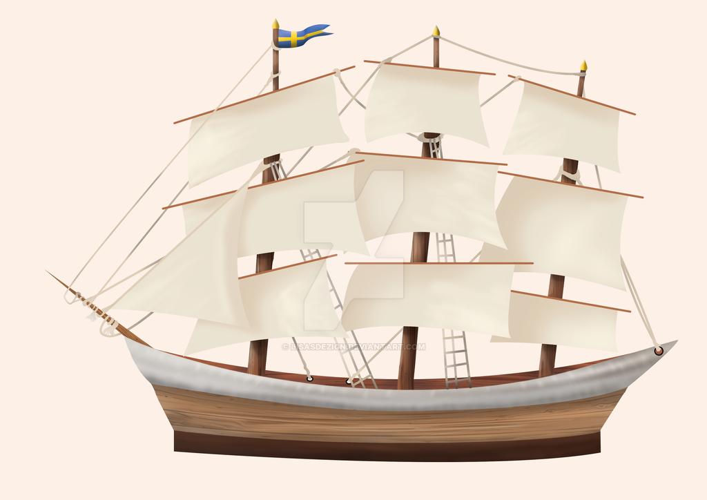 Swedish Ship - Work in Progress by LisasDezign