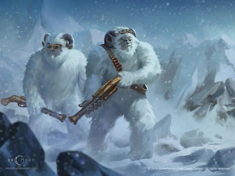 Yeti for SnowHaven