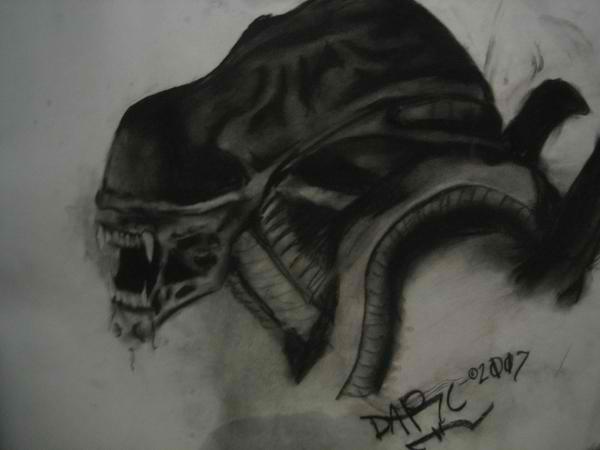 Alien by DarcKill