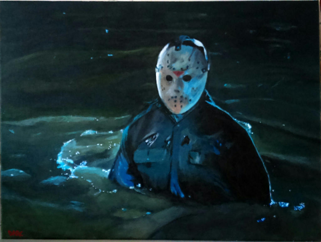 Jason in the swamp by DarcKill