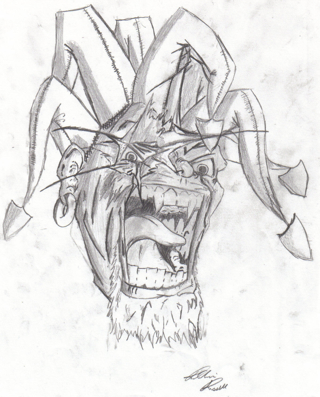 Evil Jester By Robbie2035 On DeviantArt