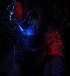 Blue elettroshock by MrScontrino
