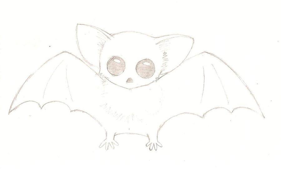 Ebony 39 s bat sketch by mariathehedgehoge on deviantart for How to draw a small bat