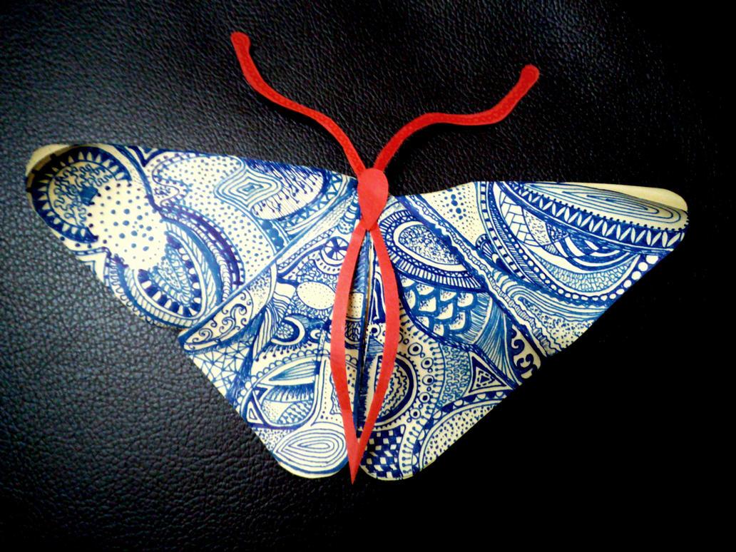 Blue-Butterfly Day by Vaishali-Mallik