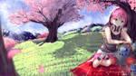 Osu! Fanart Contest (Spring) by Sjao