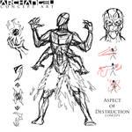 Archangel - Aspect of Destruction Sketch