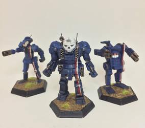 Davion Guards Trio by HeavyBenny