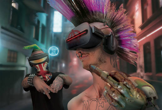 CyberZINE - Cyberpunks