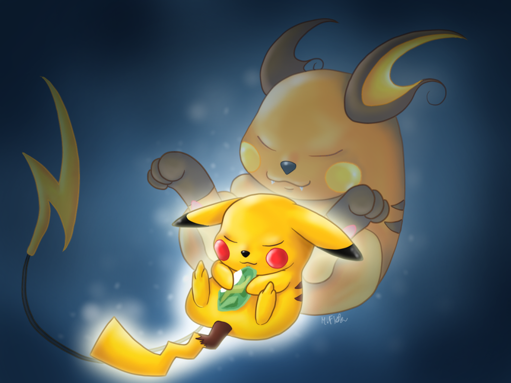 The Evolution of Pikachu by Mary1517 on DeviantArt