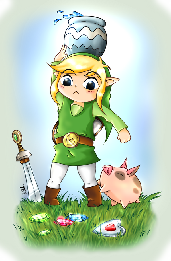 [LoZ:WW] Too much to do by Mary1517