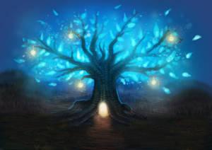 Glowing Tree