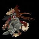 cyborg killer dragon by toamac