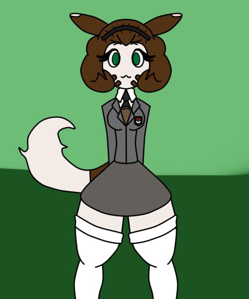 That Furret Lady In A Uniform by toamac