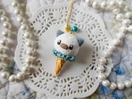Oshawott Ice Cream Strap by KeoDear