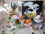 Pokemon BW Starter Sweets + Reshiram