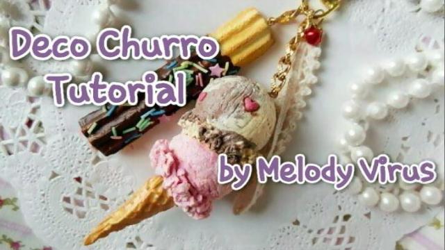 Deco Churro Tutorial by KeoDear