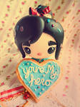 Wreck it Ralph Vanellope Youre My Hero Cookie