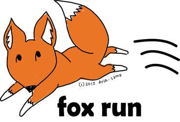 Fox Run by SerphinAria