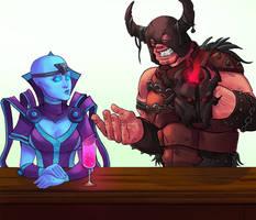 Ravincan Bar Scene (I paid moneys for this)