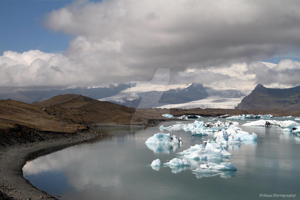 Icelandic icebergs by duvessa2