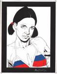 Lina in Russian Bikini