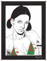 Lina in Algerian Bikini by Knifley