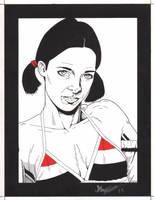Lina in Yemeni Bikini by Knifley