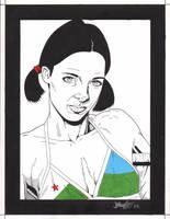 Lina in Djiboutian Bikini by Knifley