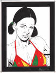 Lina in Cameroonian Bikini
