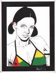 Lina in Guinea-Bissau Bikini