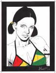 Lina in Guyanan Bikini
