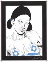 Lina in Israeli Bikini by Knifley
