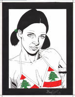 Lina in Lebanese Bikini by Knifley