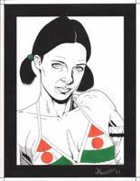 Lina in Nigeria Bikini by Knifley