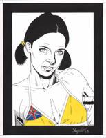 Lina in Niue Bikini by Knifley